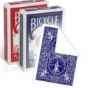 jeu Bicycle faces blanches / dos imprimés