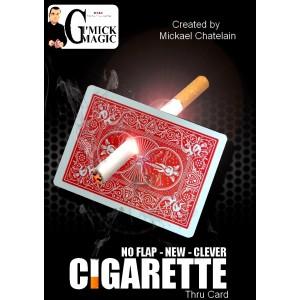 Cigarette à Travers la Carte de  Mickaël Chatelain