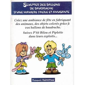 "Livret ""sculpter des ballons"""