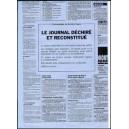Journal Déchiré & Reconstitué