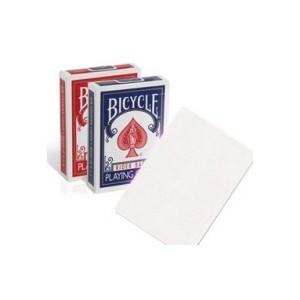 Jeu Bicycle blanc / blanc